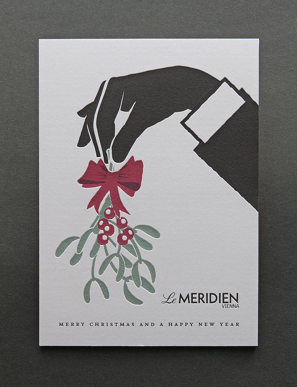 Le Meridien Weihnachtskarte