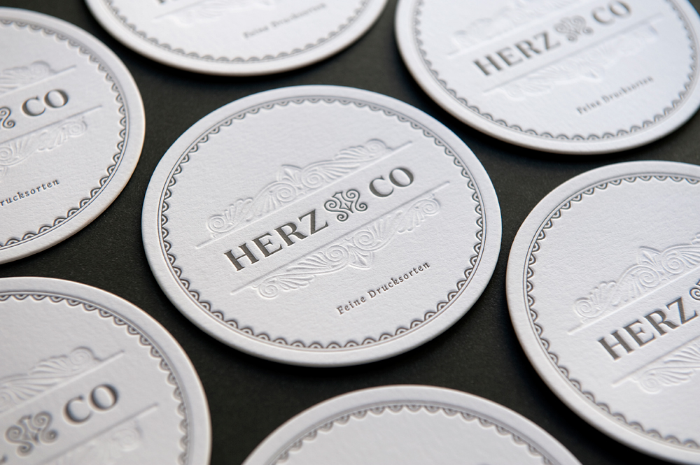 HERZ & CO Coaster