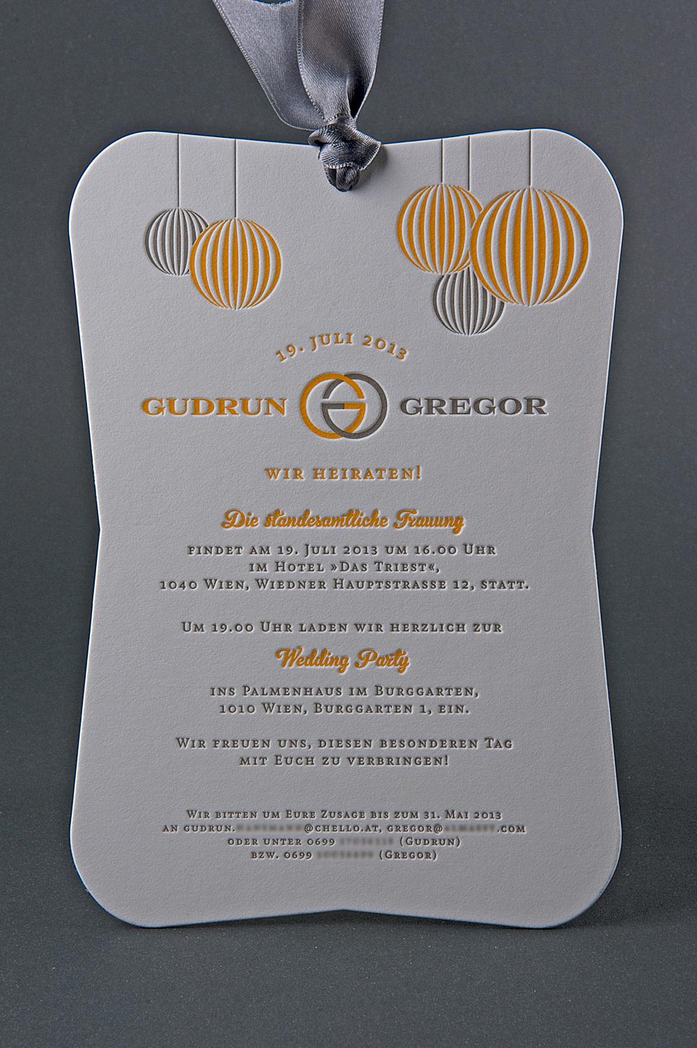 Hochzeit Gudrun & Gregor