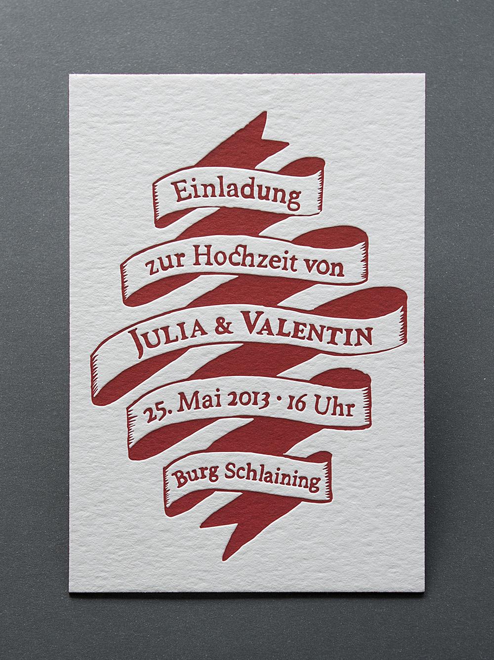 Hochzeit Julia & Valentin