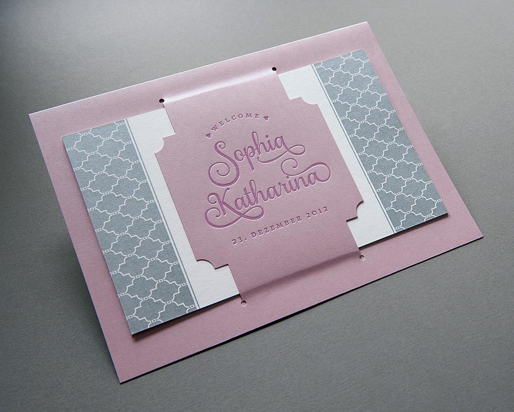 Geburtsanzeige Sophia